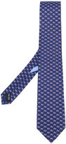 Salvatore Ferragamo motorbike detail tie - men - Silk - One Size