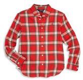 Ralph Lauren Girl's Cotton Plaid Shirt