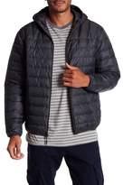 Hawke & Co Hooded Packable Water Resistant Down Jacket