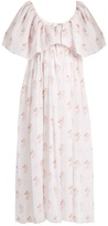 Emilia Wickstead Fede floral-print empire-waist cotton dress