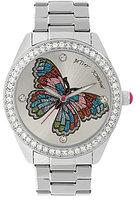 Betsey Johnson Butterfly Analog Bracelet Watch