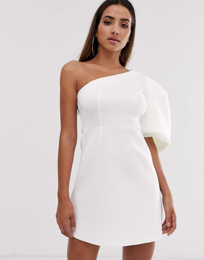 0cd0c55b58e9 One Shoulder Skater Dress - ShopStyle UK