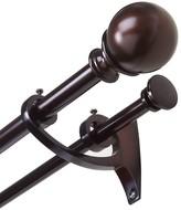 Umbra Diverge Adjustable Double Curtain Rod