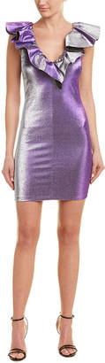 Pinko Metallic Shift Dress
