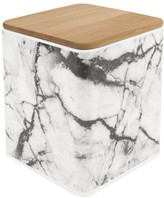 Present Time Marble Effect Square Storage Boxes