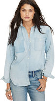 Denim & Supply Ralph Lauren Distressed Boyfriend Shirt
