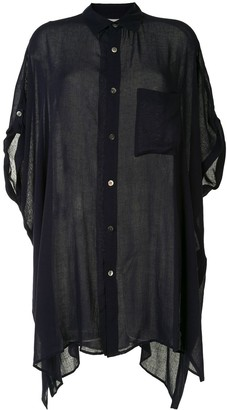 Y's Sheer Oversized Shirt