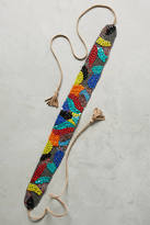 Anthropologie Primary Colors Beaded Belt