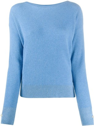 Liu Jo Ribbed Knitted Jumper