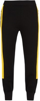 Neil Barrett Tape-trimmed wool track pants