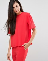 Finders Keepers Red Eyes Tunic Top