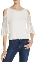 Ella Moss Cold Shoulder Sweater