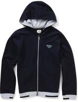 Armani Junior Boys Long Sleeve Fz Hood Track Top