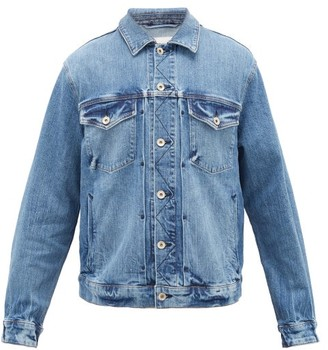 Rag & Bone Definitive Stretch-denim Trucker Jacket - Mens - Blue