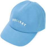 Holiday branded cap - women - Cotton - One Size