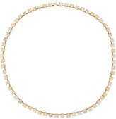 Erickson Beamon Lady And The Tramp Gold-Plated, Swarovski Crystal And Faux Pearl Headpiece