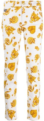 Versace Jeans Couture Graphic Print Jeans