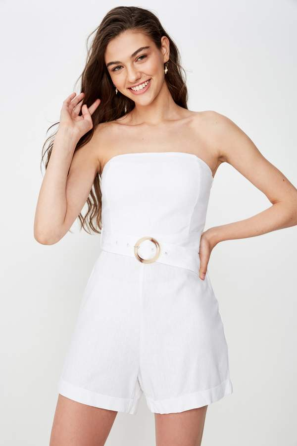 Supre Nadia Belted Playsuit
