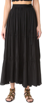 Tome Tiered Wrap Skirt
