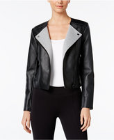 MICHAEL Michael Kors Faux-Leather Moto Jacket