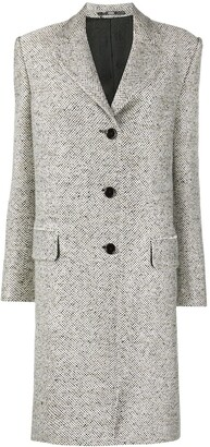 Gianfranco Ferré Pre-Owned 1990s Buttoned Knee-Length Coat