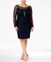 Love Squared Plus Size Lace Bodycon Dress