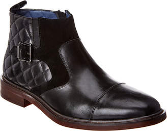 Robert Graham Toland Leather & Suede Boot