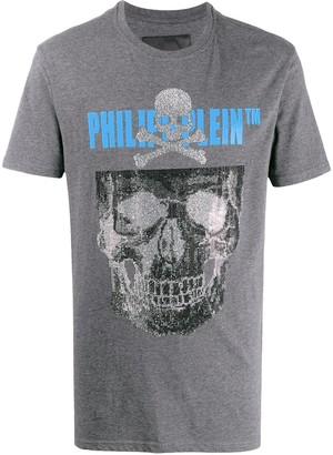 Philipp Plein SS Skull logo print T-shirt