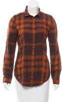 Burberry House Check Long Sleeve Button-Up