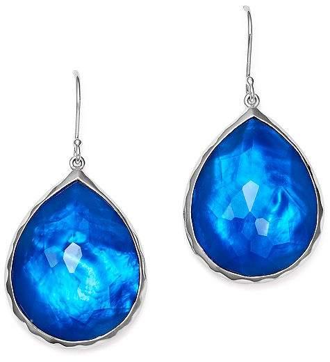 Ippolita Sterling Silver Rock Candy® Wonderland Teardrop Earrings in Ultramarine