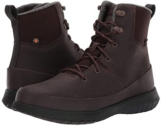 Bogs Freedom Lace Tall (Gray) Men's Shoes