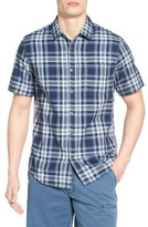 Jeremiah Men's Carr Regular Fit Reversible Plaid Sport Shirt