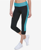 Tommy Hilfiger Mesh-Trim Cropped Leggings, a Macy's Exclusive Style