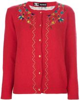 Kansai Yamamoto Vintage embroidered cardigan