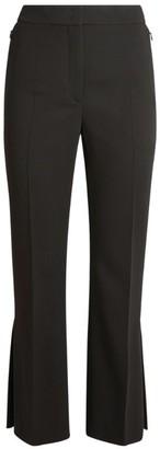 Akris Faria Wool Cropped Trousers