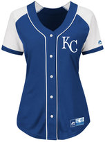 Majestic Women's Kansas City Royals Fashion Replica Jersey
