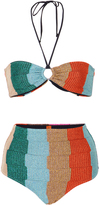 Missoni Mare Greca Metallic Bikini