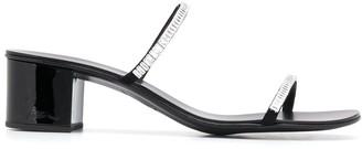 Giuseppe Zanotti Crystal Studded Stappy Sandals