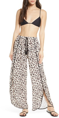 Chelsea28 Ana Print Cover-Up Pants