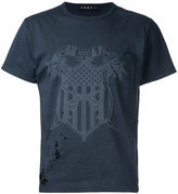 Roar distressed coat of arms printed T-shirt
