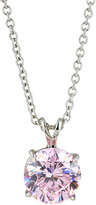 FANTASIA Round Crystal Pendant Necklace
