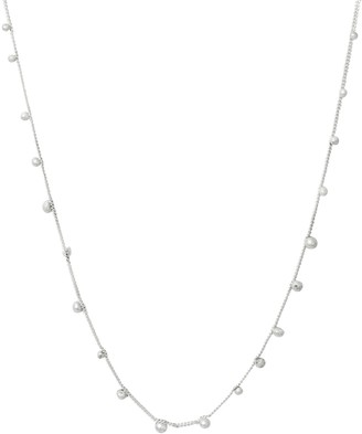 Lily Flo Jewellery Stardust Shooting Stars White Gold Necklace