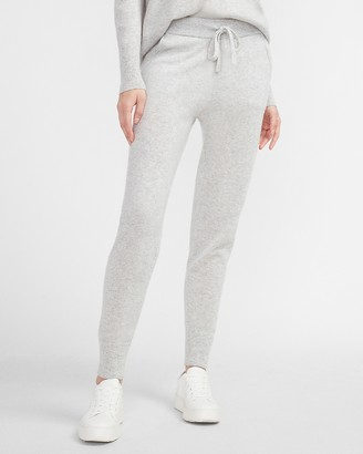Express X You High Waisted Cashmere Jogger Pant
