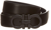 Salvatore Ferragamo Gancini Reversible & Adjustable Leather Belt