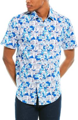 Robert Graham Marshfield Classic Fit Woven Shirt