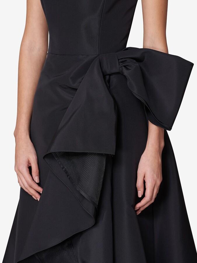 Thumbnail for your product : Carolina Herrera Sleeveless Ruffled-Detail Gown
