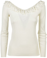 Ermanno Scervino Ruffled Top