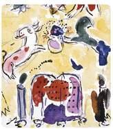 Bernardaud Marc Chagall Levy Tribe Rectangular Tray