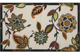 "Waverly Fancy Free & Easy ""Lively Trail"" Beige/Brown Area Rug Rug Size: Rectangle 1'8"" x 2'10"""