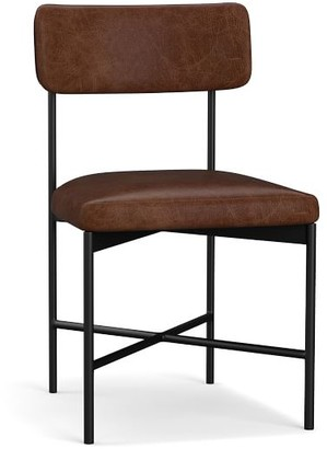 Pottery Barn Maison Leather Dining Chair